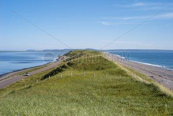 Dune Miquelon-Langlade Isthmus Saint-Pierre and Miquelon