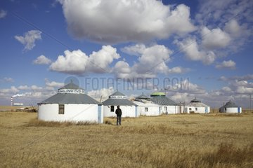 Touristic Yurt Village and Powerhouse Mongolia Inland