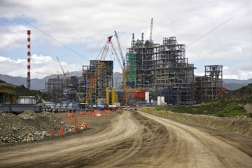 Construction of the nickel plant KNS Vavouto New Caledonia