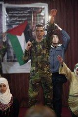 Palestinian camp of Burj el-Barajneh in Beirut Lebanon