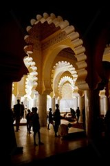 Interior of the Great Mosque of Touba Senegal