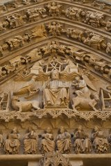 Portal Sarmental St Mary's Cathedral of Burgos Spain