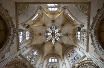 Vault of St Mary's Cathedral of Burgos Spain