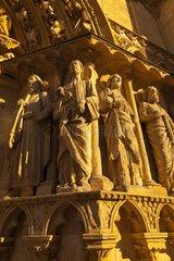Portal Coronería St Mary's Cathedral of Burgos Spain