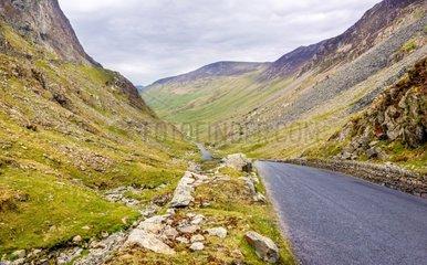 Mountain Road - Lake District England UK