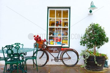 Facade decorated and bicycle - South Africa