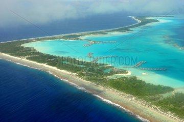 Overwater Bungalows Resort Bora Bora French Polynesia