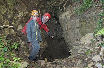 Introduction to Caving Cave Balm France