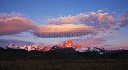 Fitzroy Los Glaciares Tierra del Fuego Argentina