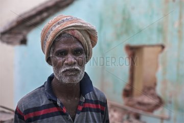 Portrait of Mason District Tamil Pondicherry India