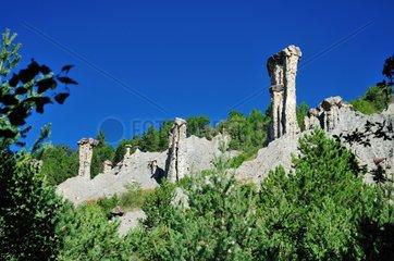 Theus hoodoos of Serre-Ponçon France