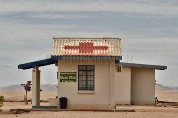Clinic on the edge of the Namib Desert Namibia