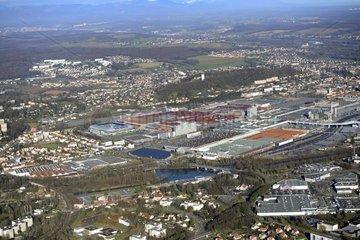 Industrial site Peugeot Sochaux-Montbéliard - France
