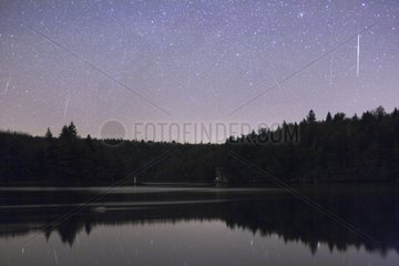 Meteor shower of the Geminid