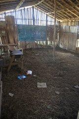 Inside an elementary school Papua New-Guinea