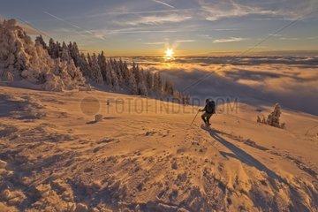 Peaks of the Grand Cret Water Winter Haute Chaine du Jura