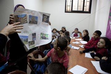 Class of Chatila corresponding with a class of Lyon -Lebanon