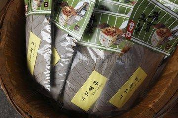 Magnolia sheet to cook Hida beef Japan