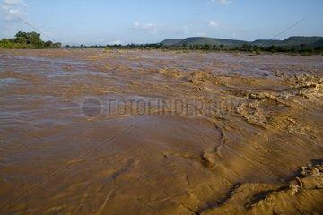 Galana river in the Tsavo East NP Kenya
