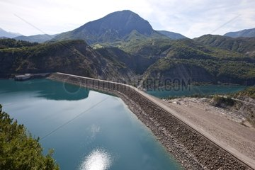 Serre-Ponçon Dam Alpes France