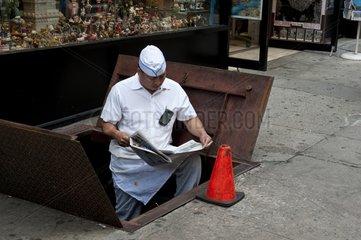 In the street of Manhattan New York USA