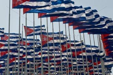 May 1st celebration La Habana Cuba