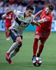(SP)CANADA-VANCOUVER-SOCCER-MLS-VANCOUVER WHITECAPS VS TORONTO FC