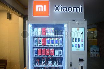 INDIEN-BANGALORE-TECHNOLOGY-XIAOMI  Indien China Xiaomi
