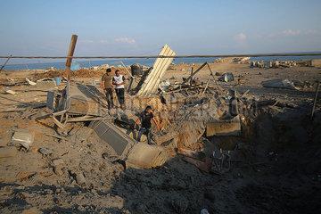 MIDEAST-GAZA-AIRSTRIKE
