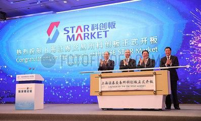 CHINA-SHANGHAI-SCI-TECH INNOVATION BOARD-OPENING (CN)
