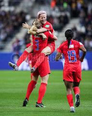 (SP)FRANCE-REIMS-SOCCER-FIFA WOMEN'S WORLD CUP-USA VS THA