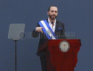 EL SALVADOR-SAN SALVADOR-NEUER PRÄSIDENT-EINWEIHUNG  EL SALVADOR-SAN SALVADOR-TRASPASO Presidencial  EL SALVADOR-SAN SALVADOR-TRASPASO Presidencial