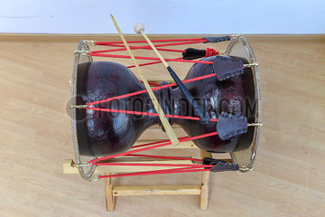 CHINA-JILIN-CHANGCHUN-KOREAN LONG DRUM (CN)