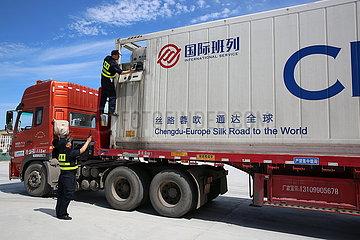 CHINA-XINJIANG-IMPORT-EUROPE-gefrorenen Rindfleisches (CN)