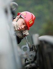# CHINA-HUNAN-ZHANGJIAJIE-TOURISM-CABLE CAR TECHNIKERS (CN)