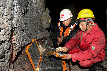 CHINA-XINJIANG-RUOQIANG-BLASTER (CN)