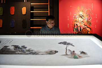 CHINA-TIANJIN-INTANGIBLE CULTURAL HERITAGE-EXHIBITION (CN)