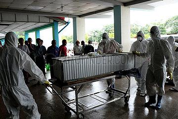 MYANMAR-YANGON-HIN1-INFLUENZA VIRUS
