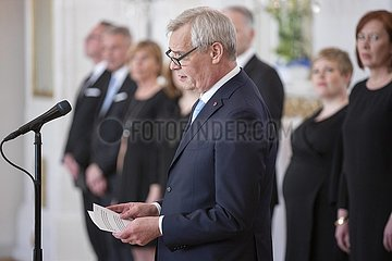 FINLAND-HELSINKI-PM-APPOINTMENT FINLAND - FINLAND'S NEW FEMALE-POWERED GOVERNMENT SWORN IN