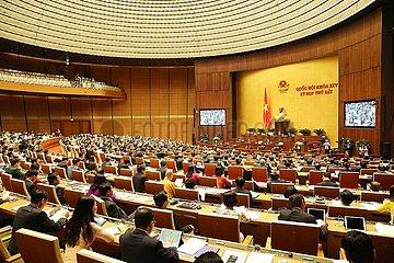 VIETNAM-HANOI-14TH Nationalversammlung-7TH SESSION-OPENING