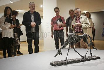 CANADA-VANCOUVER-ALBERTO GIACOMETTI-ART EXHIBITION