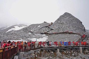 CHINA-YUNNAN-JADE DRAGON SNOW MOUNTAIN-TOURISM (CN)