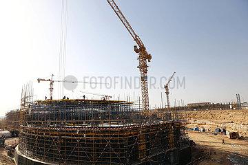 ÄGYPTEN-NEW VERWALTUNGS CAPITAL-CBD-CONSTRUCTION