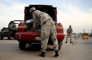 AFGHANISTAN-Nangarhar-Sicherheitspr?fpunkt