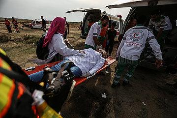 MIDEAST-GAZA-kollidiert