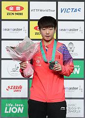 (SP)JAPAN-SAPPORO-TABLE TENNIS-ITTF JAPAN OPEN-WOMEN'S SINGLES-FINAL (??)()???——?????:????????