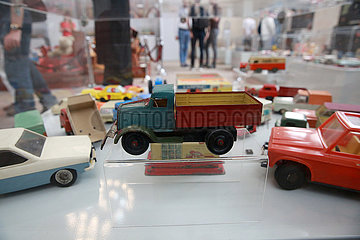 ROMANIA-BUCHAREST-CHILDREN'S DAY-TOYS EXHIBITION
