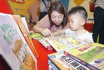 CHINA-PEKING-Eltern-Kind-READING-EVENT (CN)