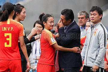 (SP)FRANCE-LE HAVRE-2019 FIFA WOMEN'S WORLD CUP-GROUP B-CHN VS ESP (?????)()??——?????????