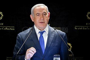 MIDEAST-JERUSALEM-NETANYAHU-STATEMENT